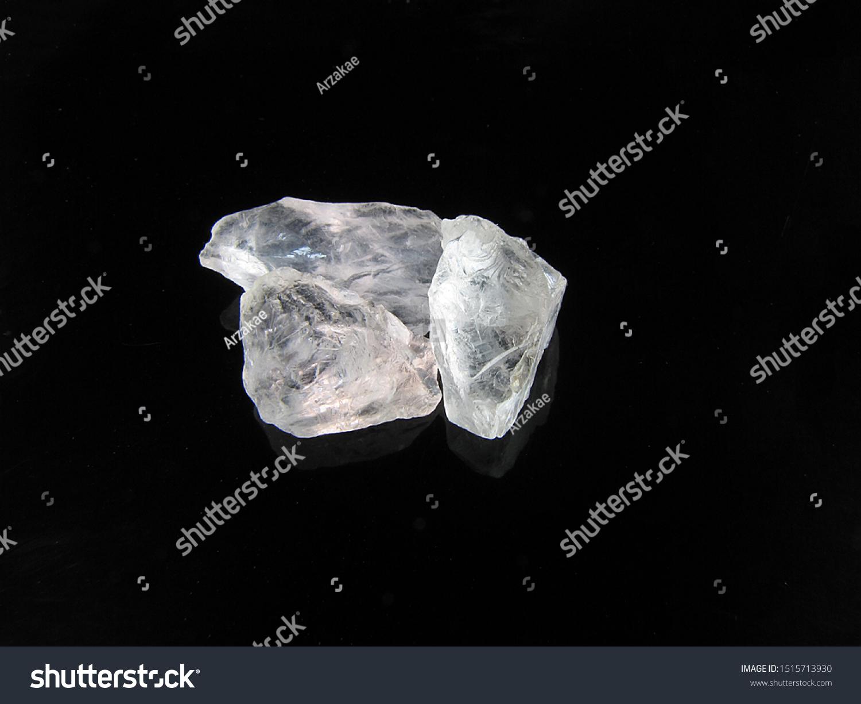 Wonderbaarlijk Natural Mineral Rough Pure Beryl Goshenite Stock Photo (Edit Now ET-16