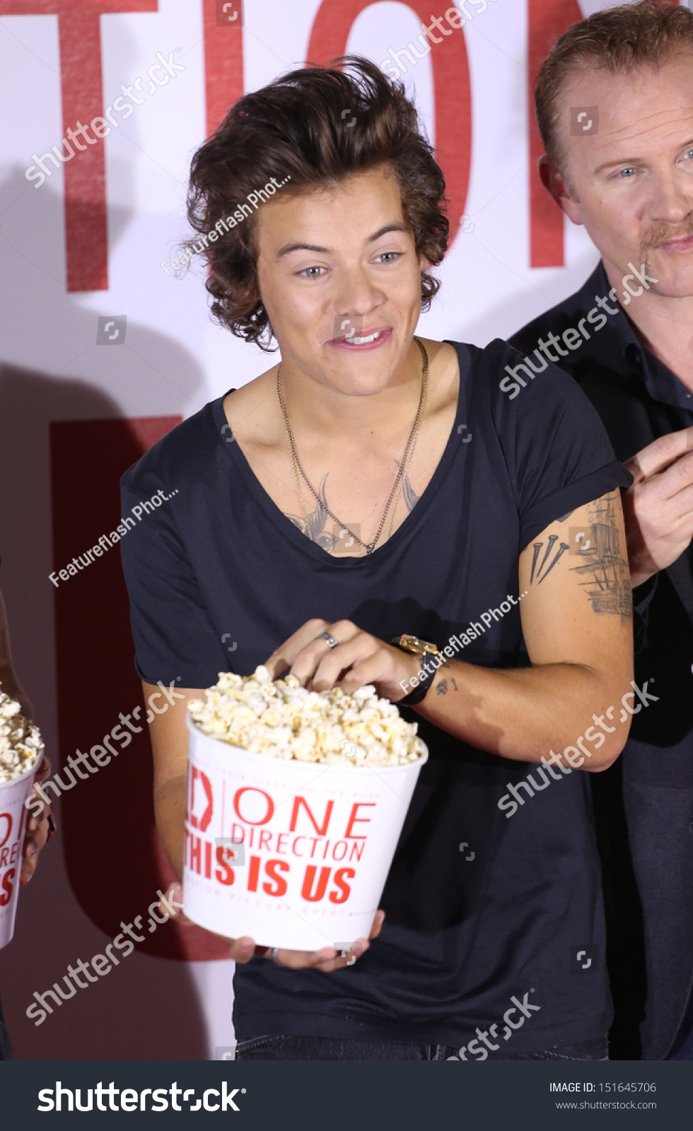 One Direction Harry Styles One Direction Stock Photo Edit Now