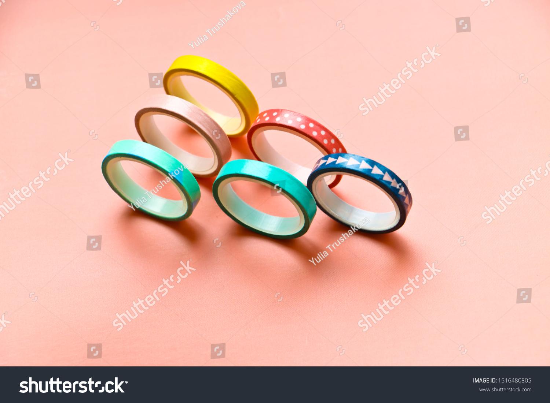 Colourful Washi