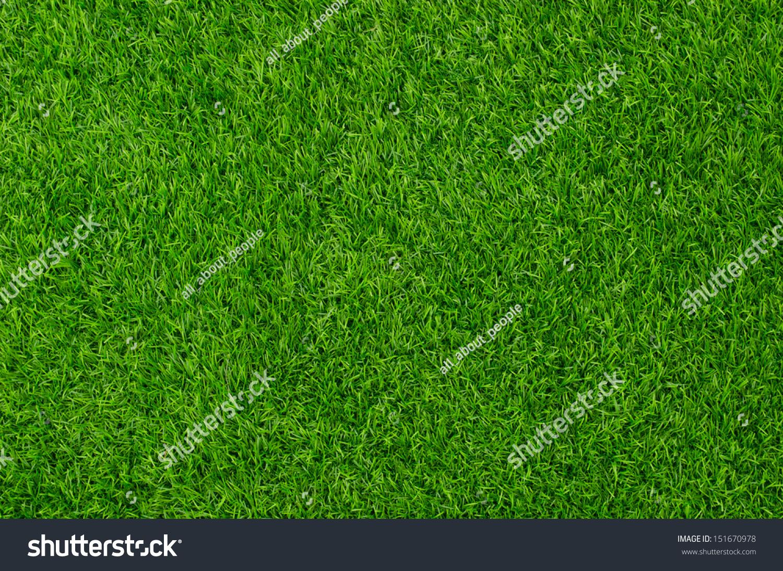 artificial grass field top view texture stock photo 151670978