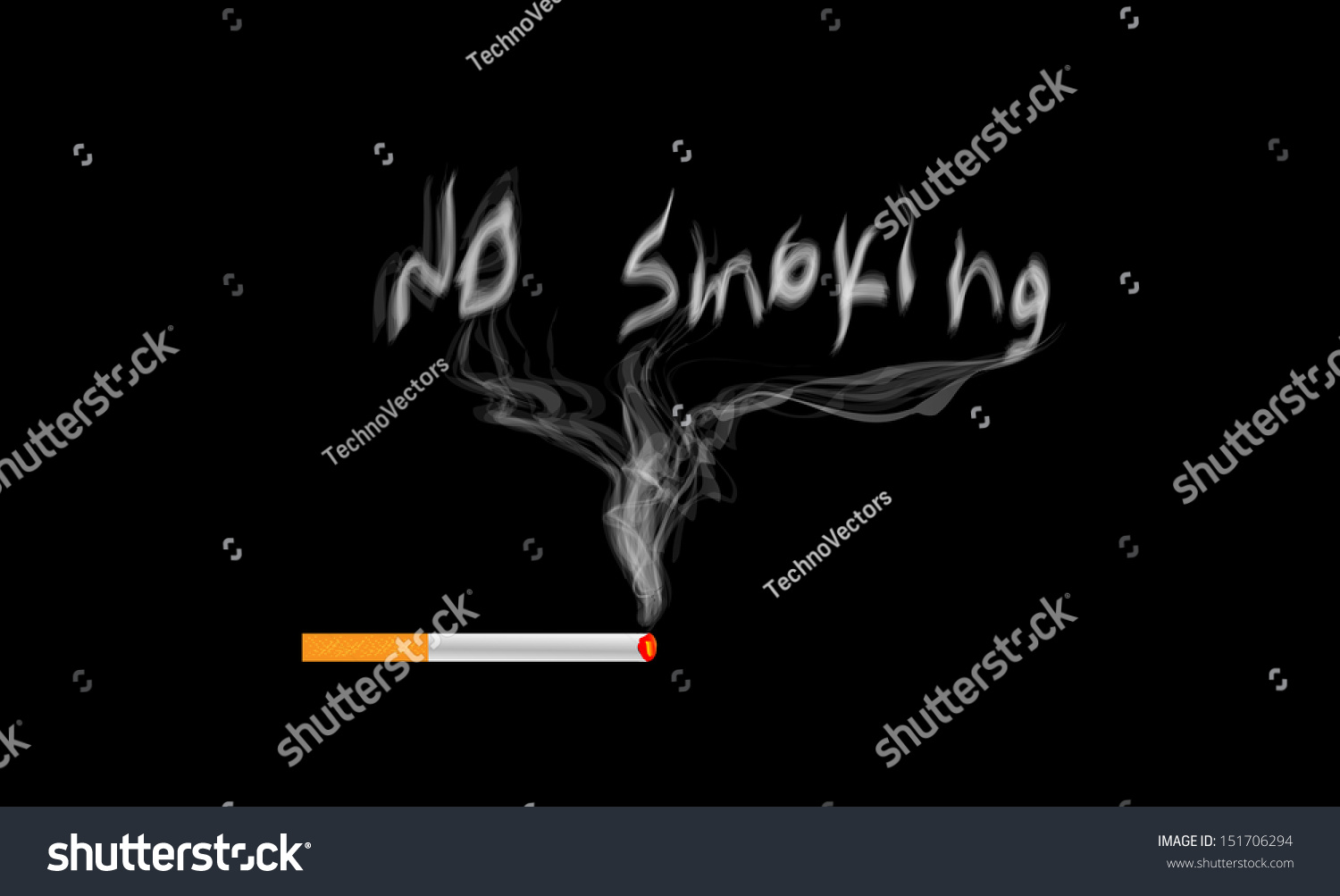 Illustration no smoking sign symbol text stock illustration illustration of no smoking sign and symbol the text written with smoke buycottarizona Images