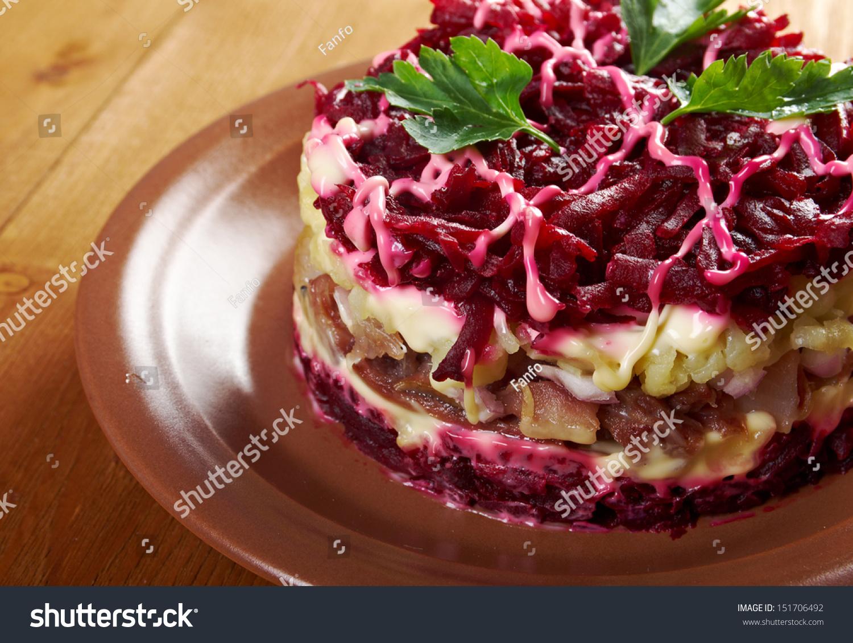 Грибы под шубой рецепт фото пошаговый