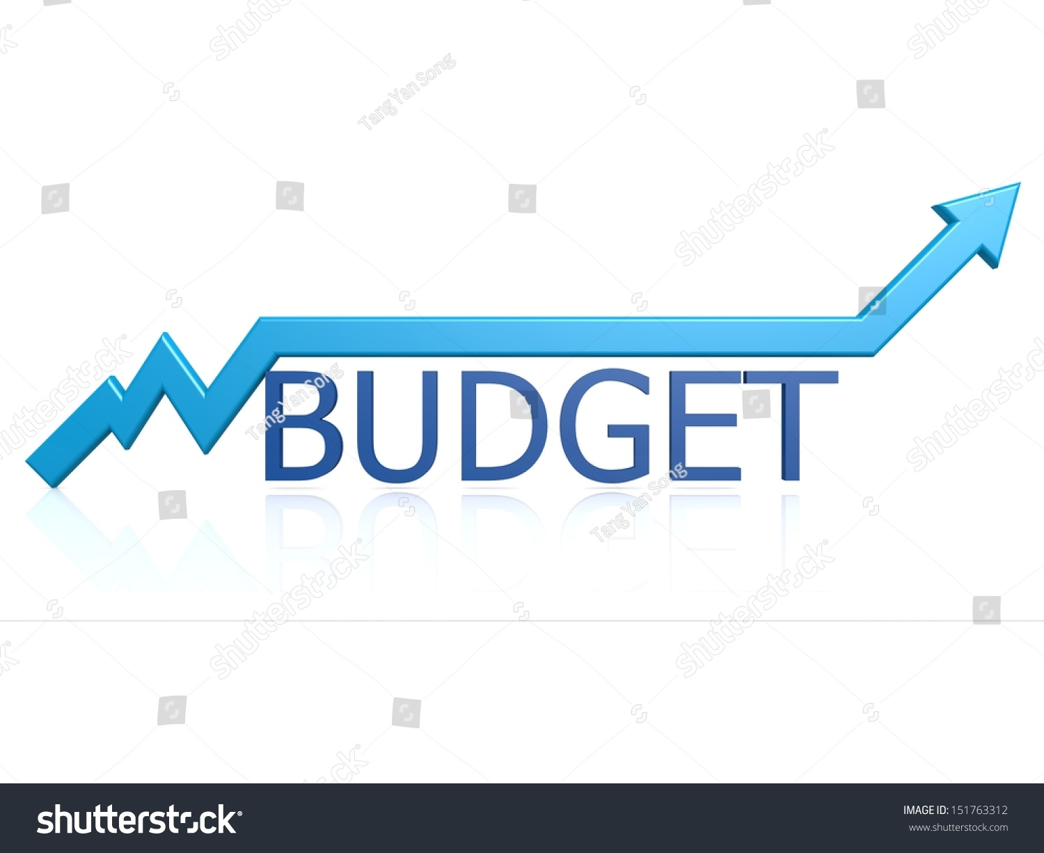 budget graph stock illustration 151763312 shutterstock