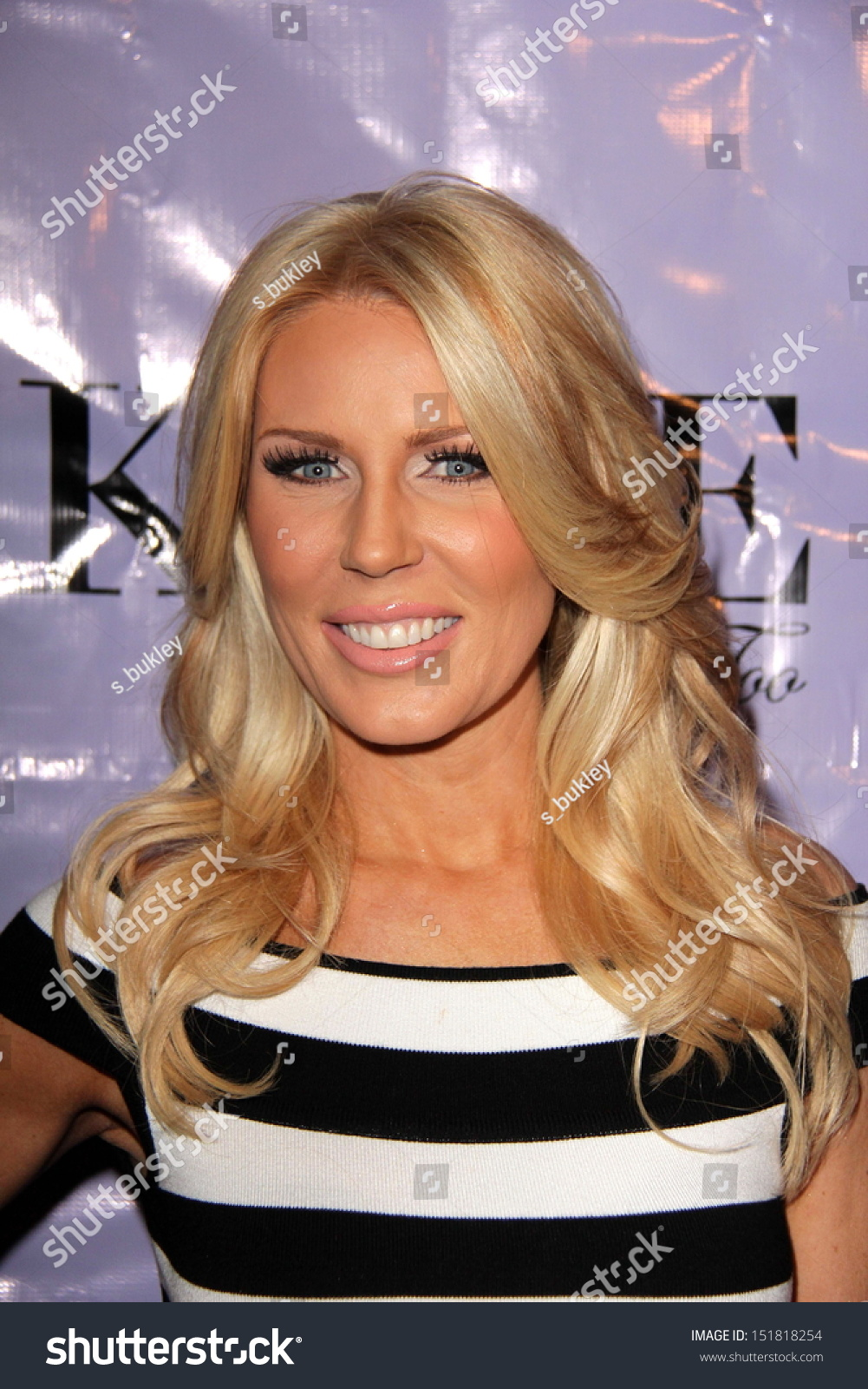 Gretchen rossi at the have faith swimgerie by lilly Jennifer stano