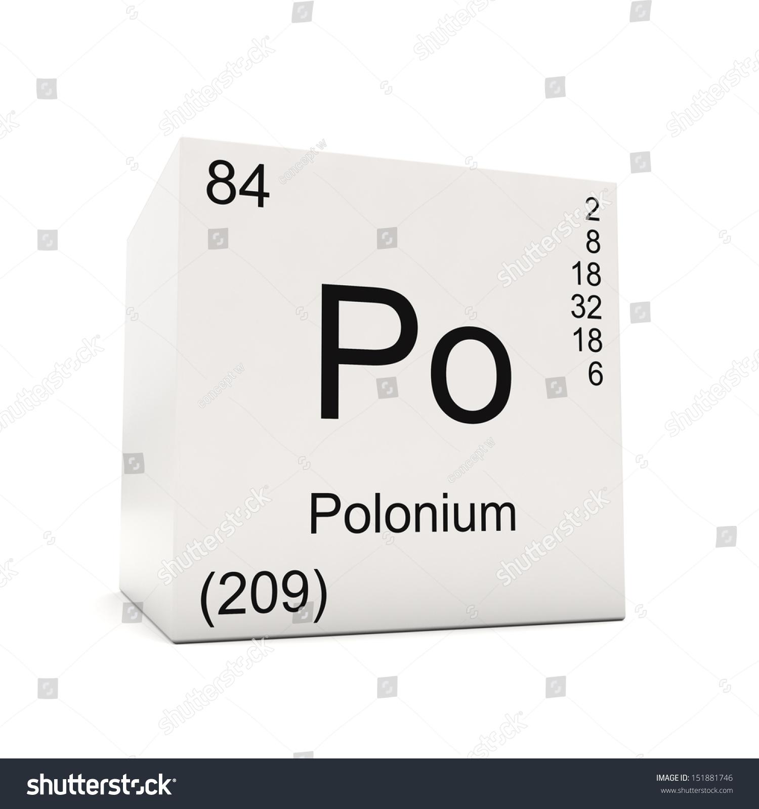 Cube polonium element periodic table isolated stock illustration cube of polonium element of the periodic table isolated on white background gamestrikefo Choice Image