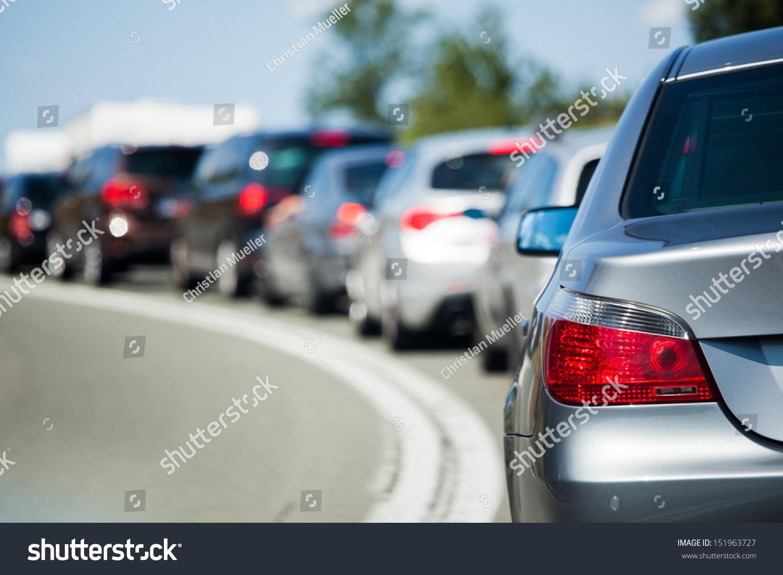 cars in a tourist traffic jam #151963727