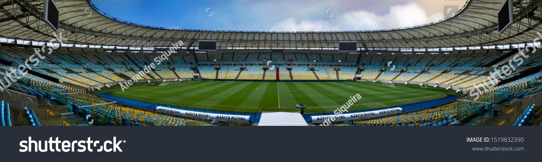 Maracanã Stadium Rio de Janeiro, Football Stadium Wall Mural