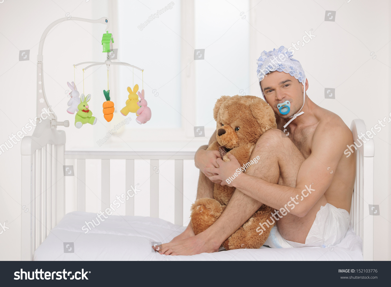 adult baby diaper man