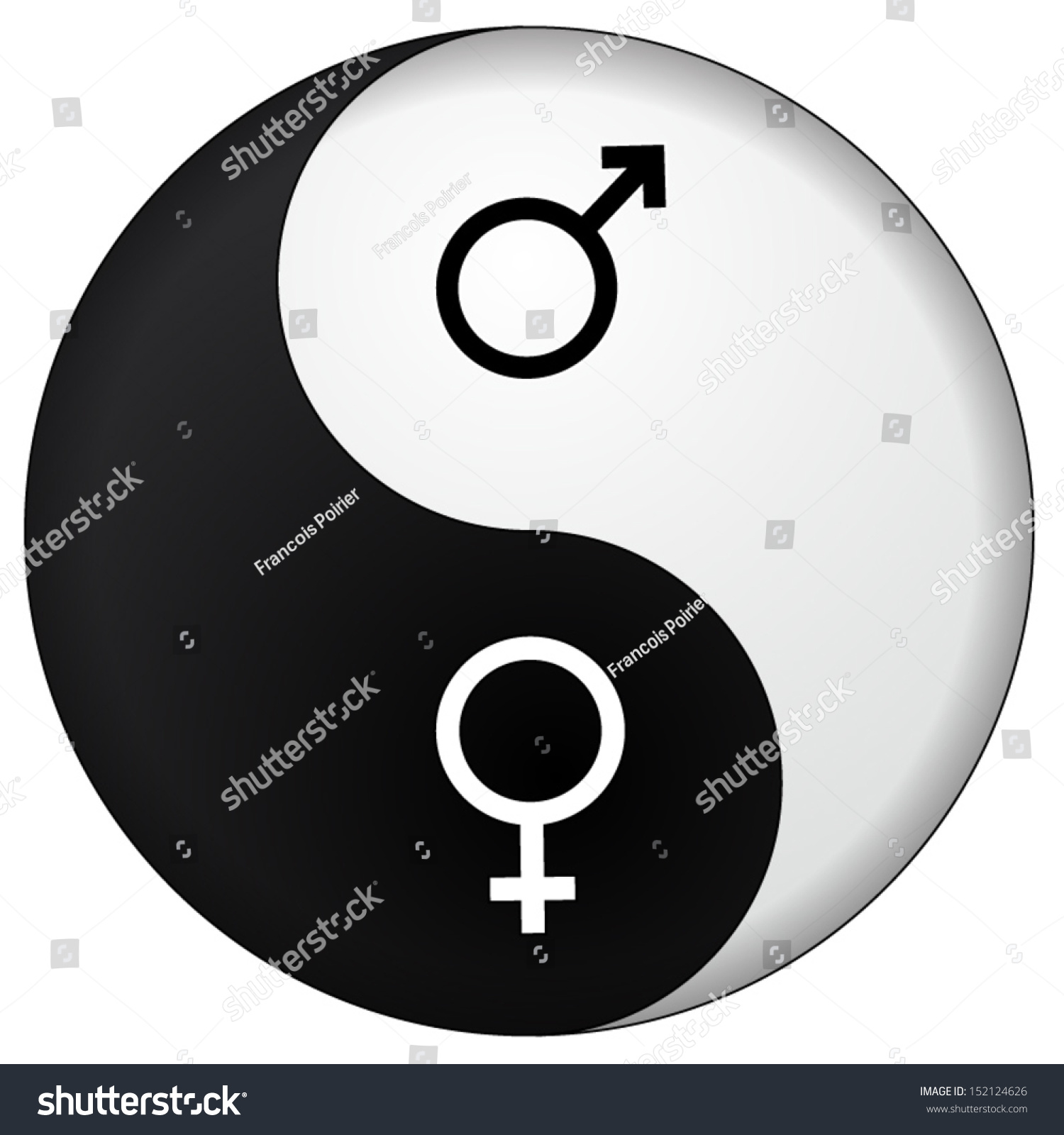 Yin yang male female stock vector 152124626 shutterstock yin yang male female biocorpaavc