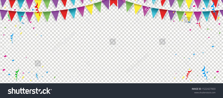 Happy Birthday Background Banner Happy Birthday Stock Vector