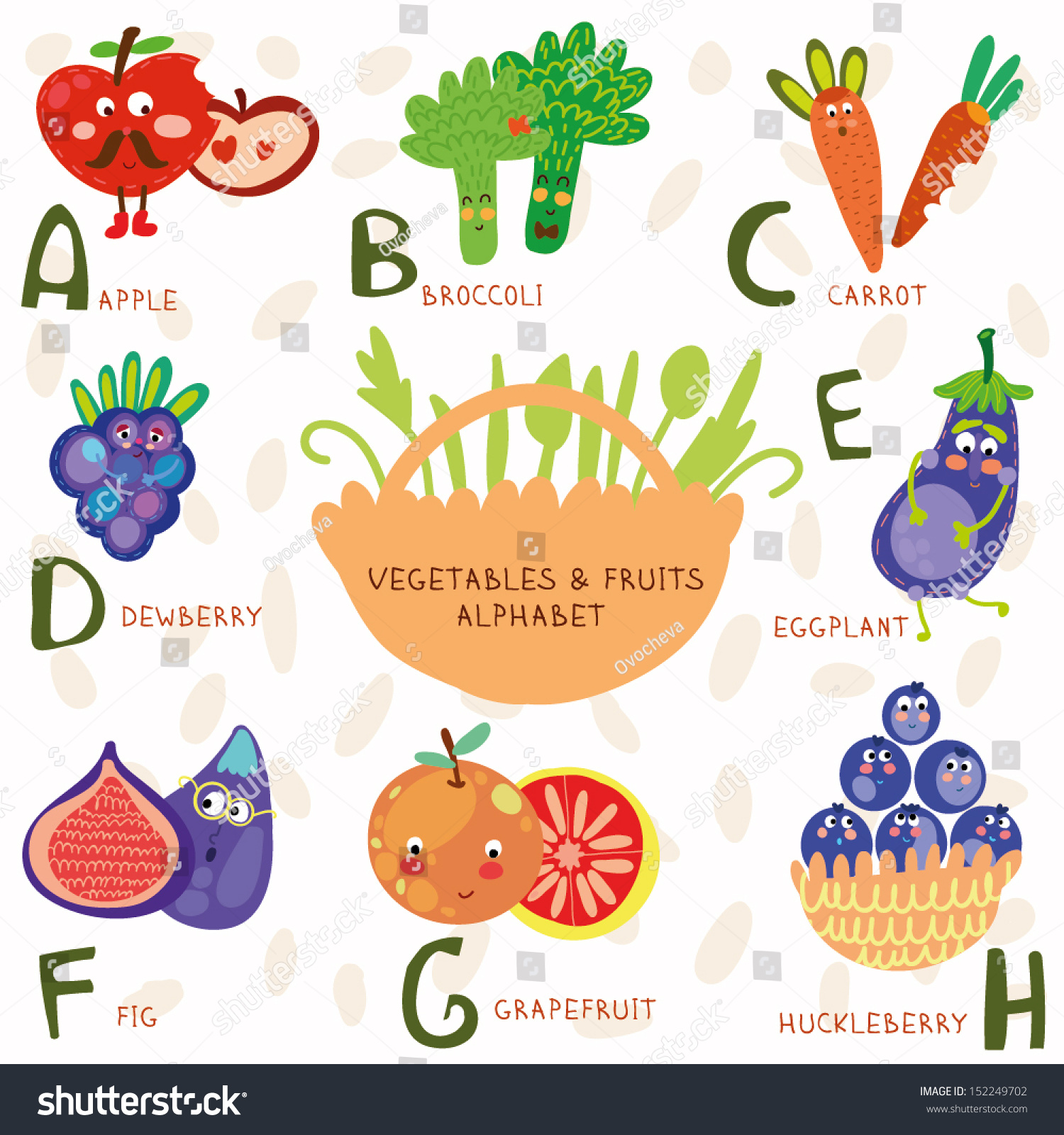Fruit And Vegetables That Start With The Letter H