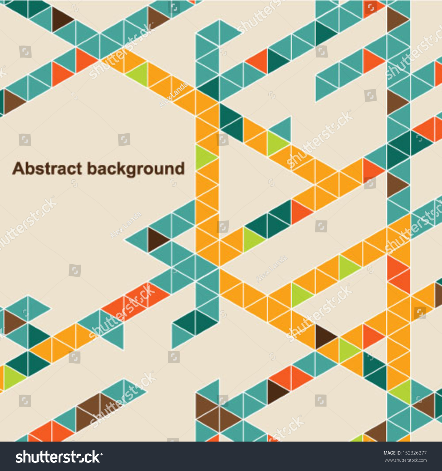 Abstract Book Cover Background : Abstract geometric background vector illustration book