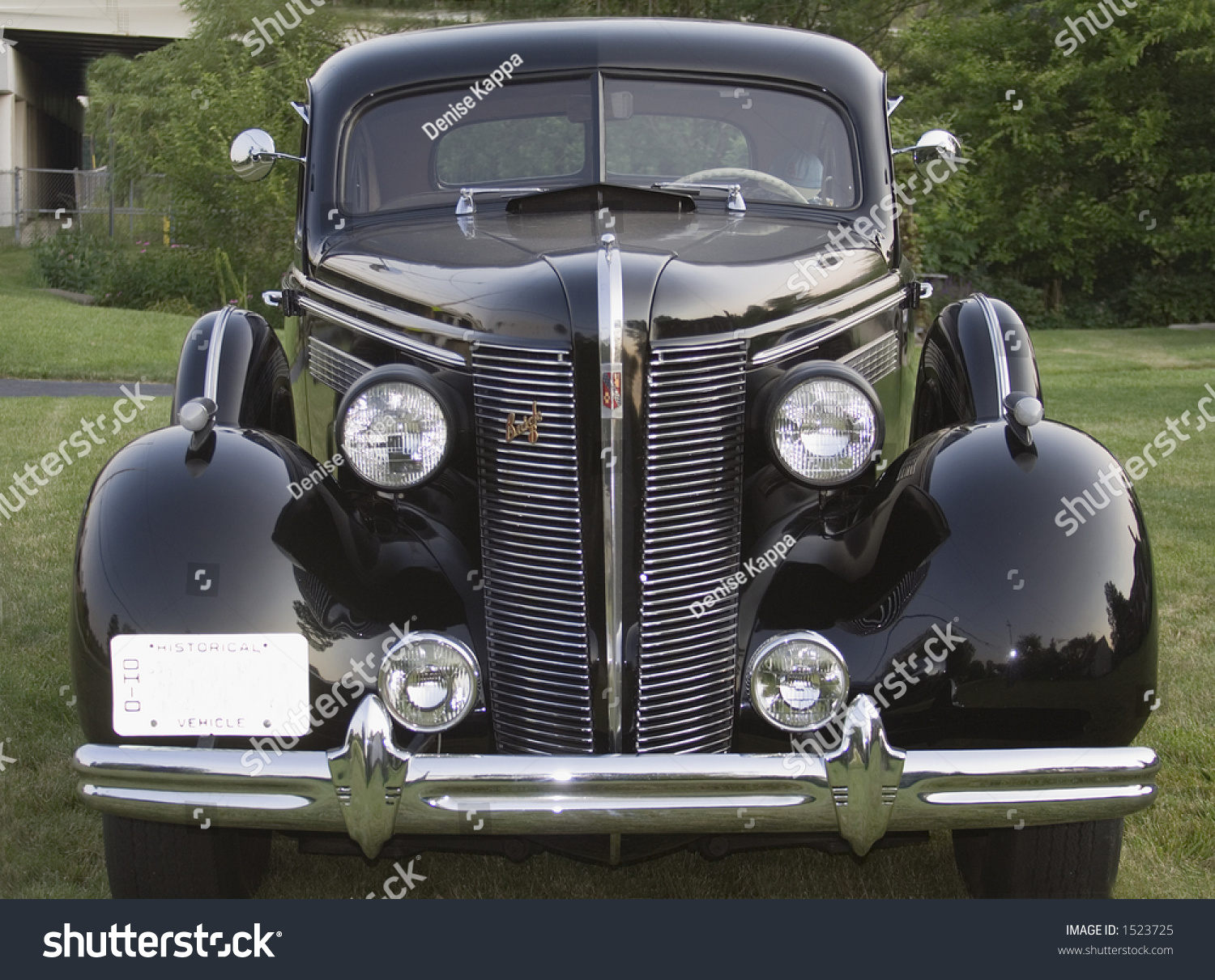 Front View Old Buick Classic American Stock Photo (Royalty Free ...