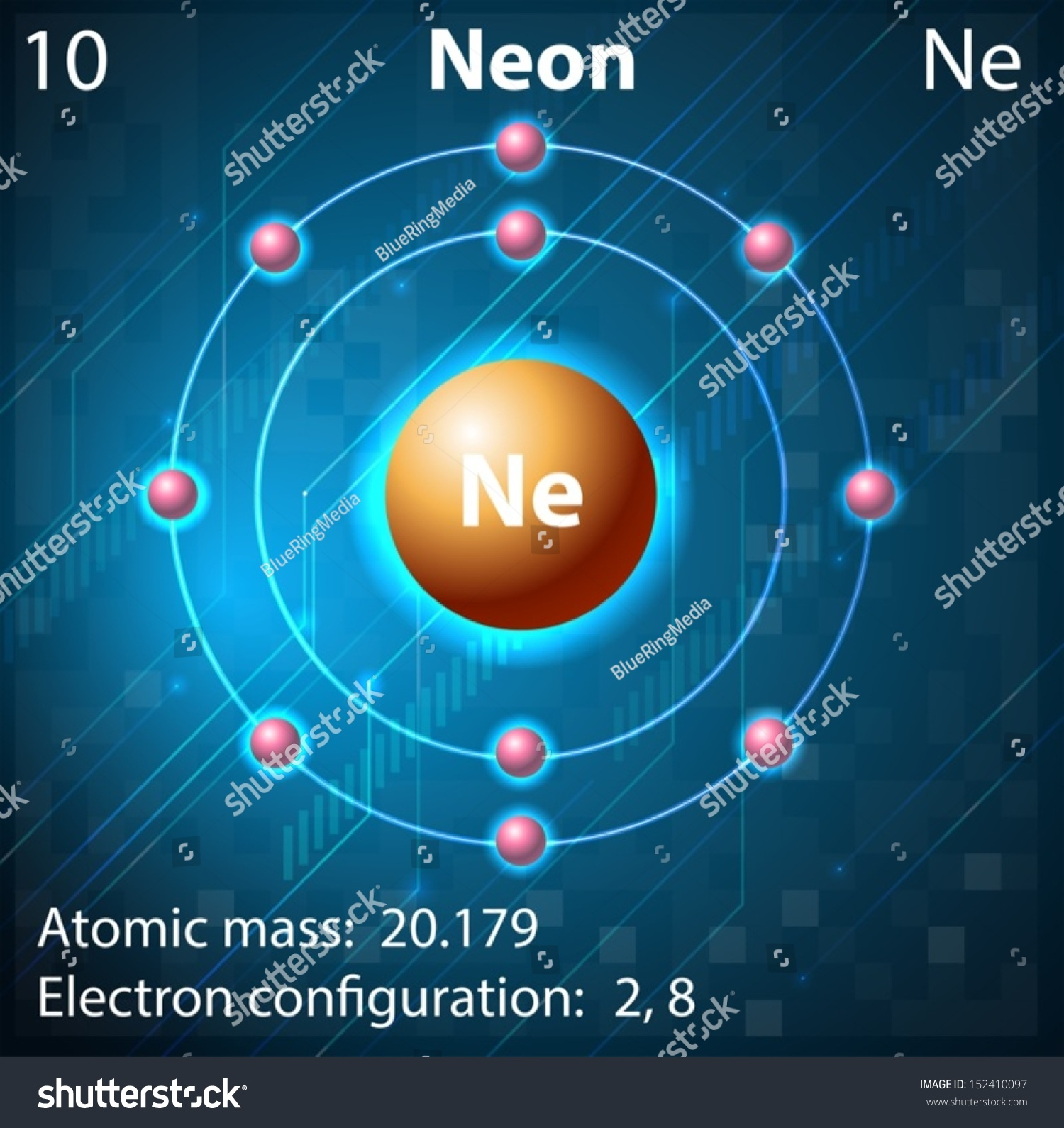 Illustration Element Neon Stock Vector 152410097 - Shutterstock