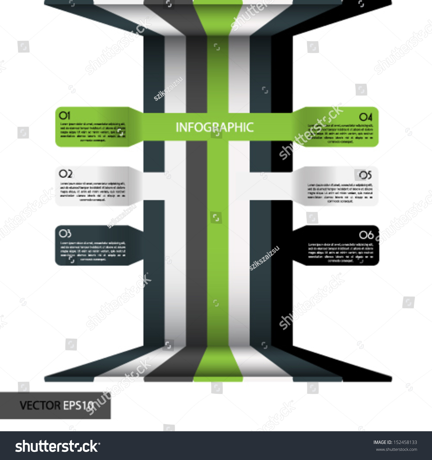 Minimal infographics vector stock vector 152458133 for Minimal art vector