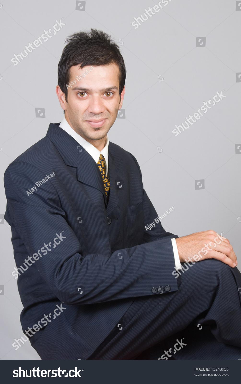 An Indian Asian Businessman In A Suit Ez Canvas