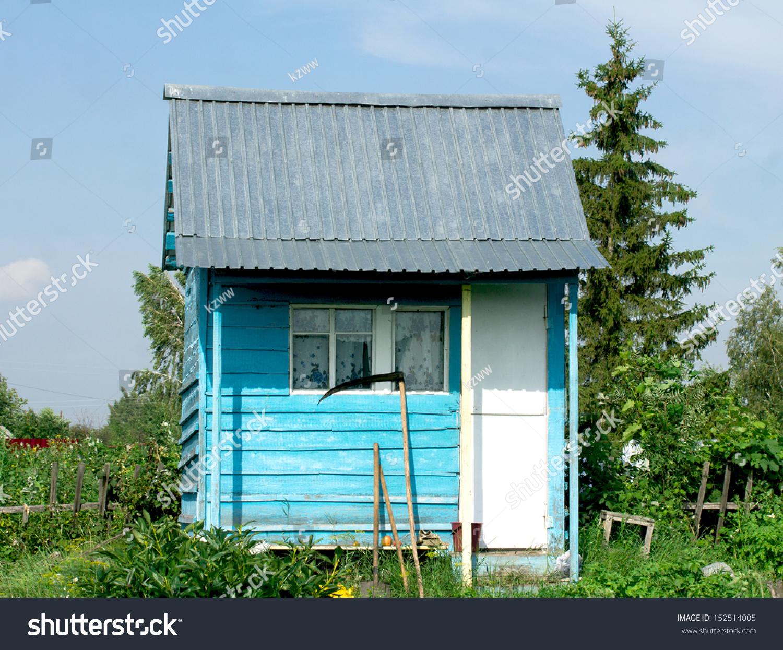 beautiful wooden garden sheds stock photo 152514005 shutterstock