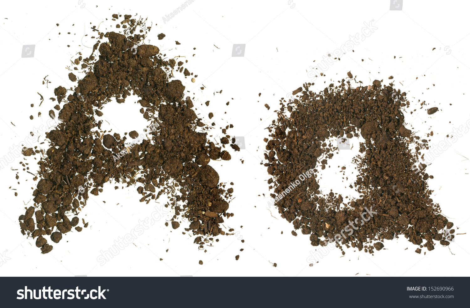 Soil alphabet letters stock photo 152690966 shutterstock for Soil 8 letters