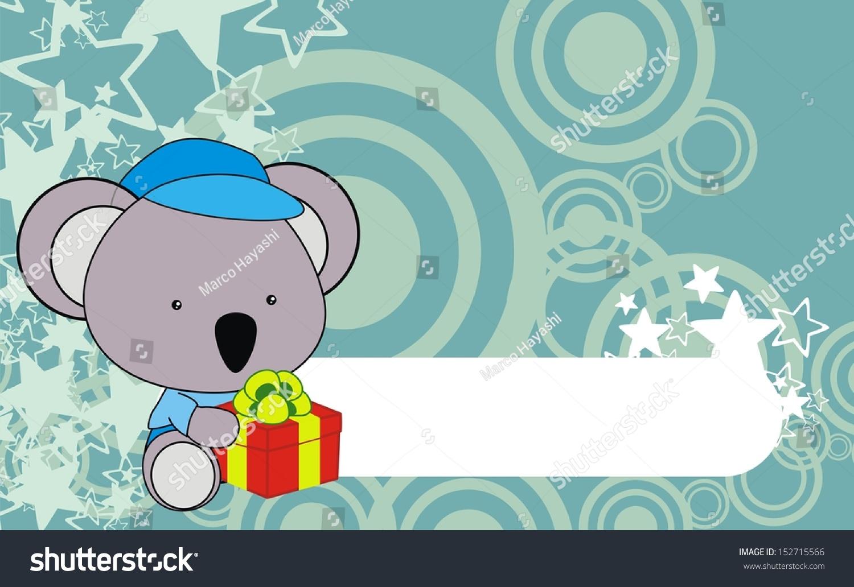 Download Wallpaper Koala Cartoon - stock-vector-koala-baby-cartoon-gift-box-wallpaper-152715566  Picture_431142   .jpg