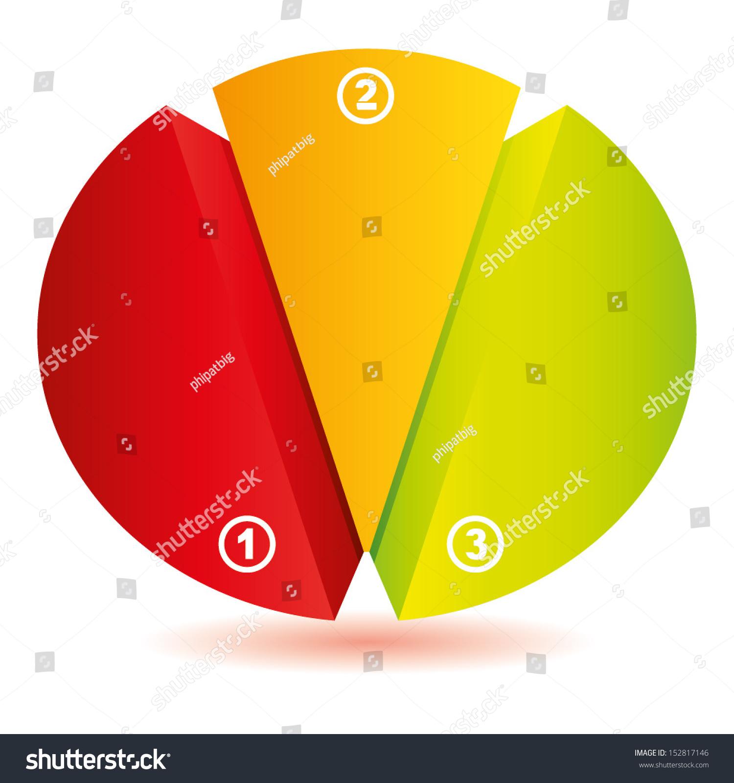 3 topics diagram pie chart concept stock vector 152817146 shutterstock 3 topics diagram pie chart concept diagram geenschuldenfo Gallery