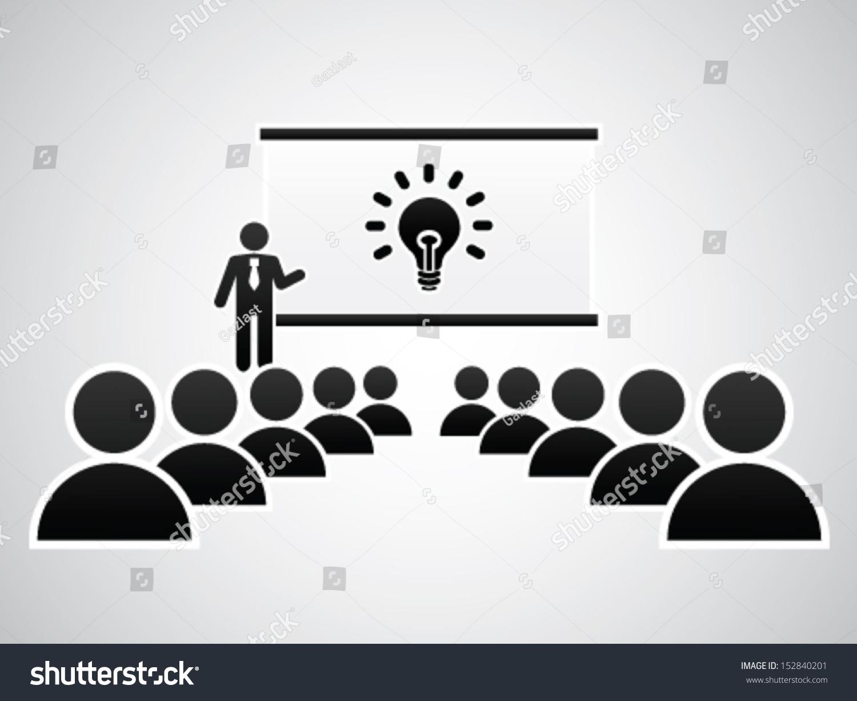 presenting idea stock vector 152840201 shutterstock