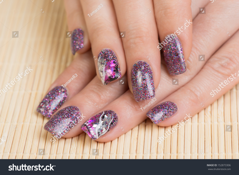 Идеи Маникюра Темно Фиолетовыми Тонами