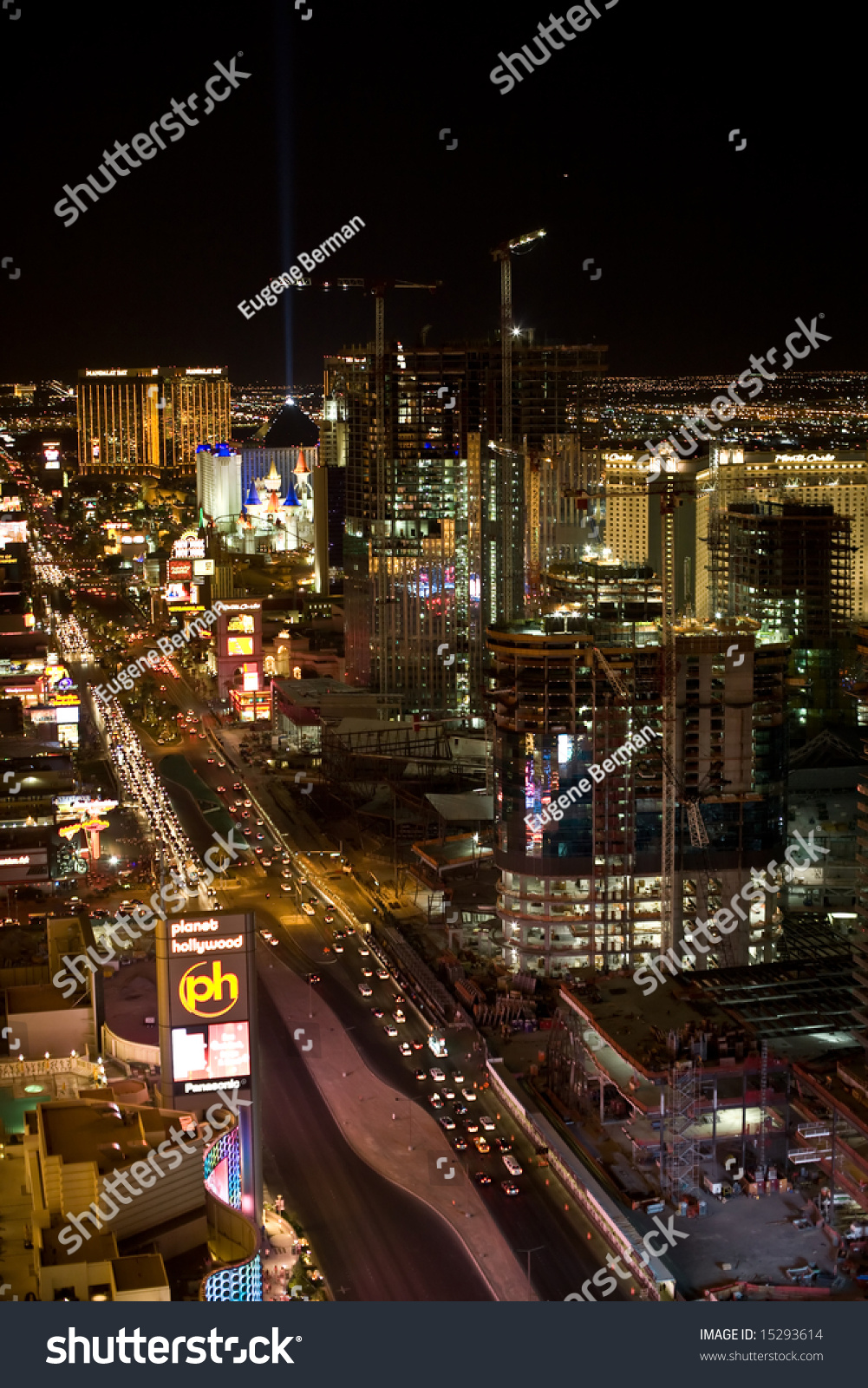 Football las vegas strip shows