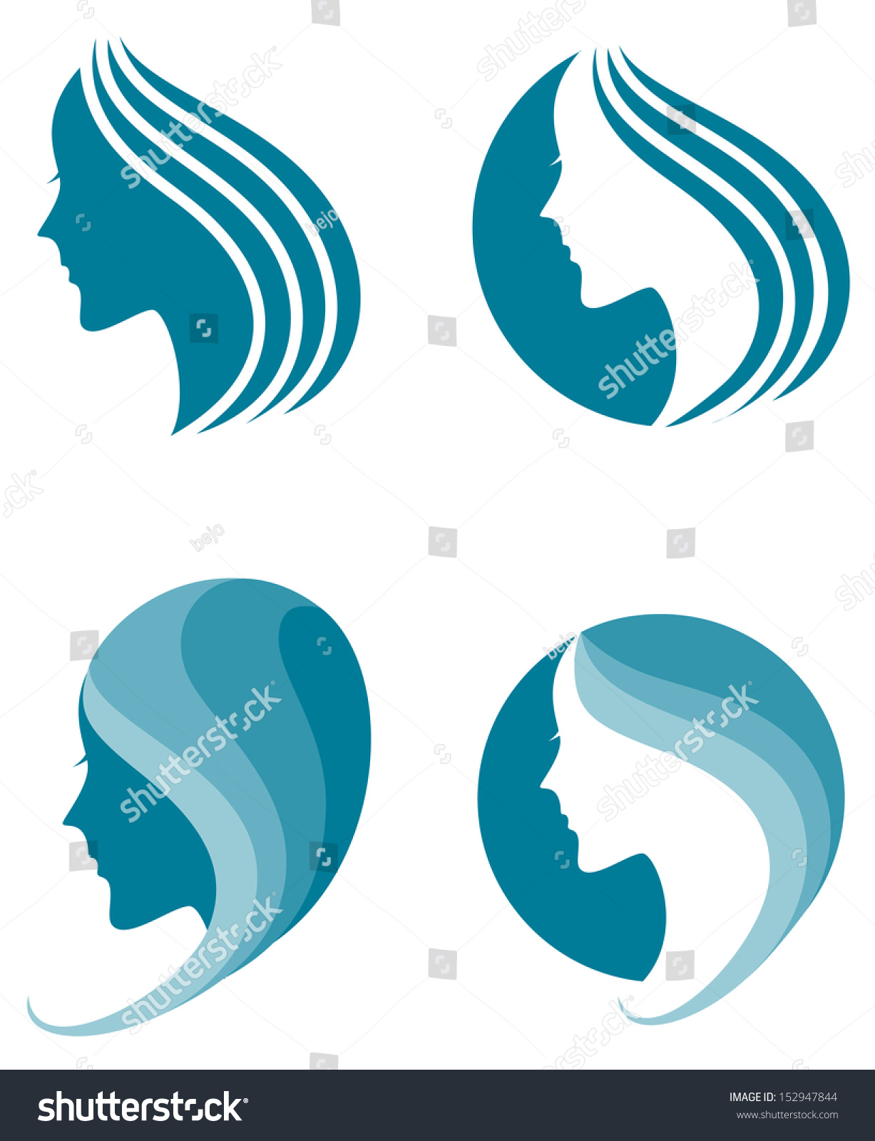 Fashion Icon. Symbol Of Female Beauty Stock Vector