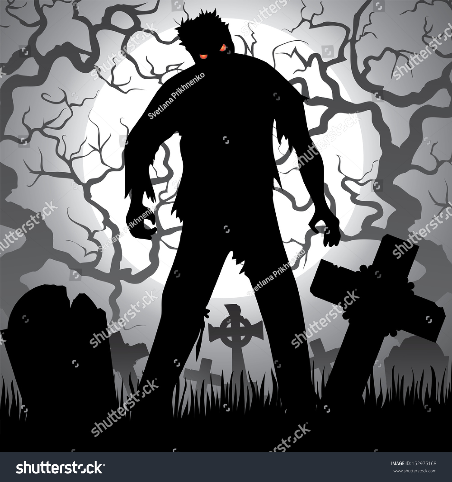 Graveyard Wallpaper - WallpaperSafari  Halloween Tombstone Background