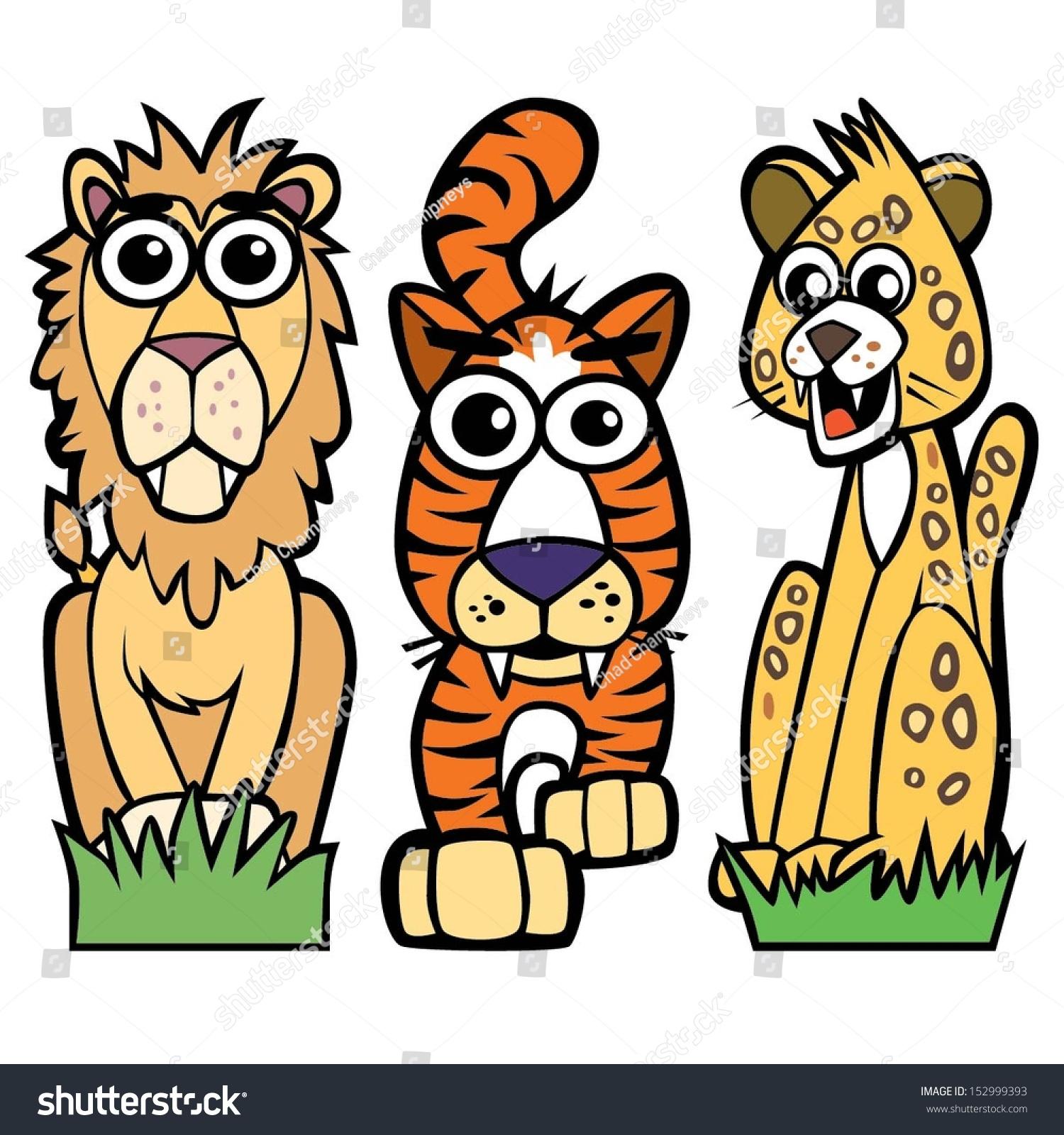 Image Gallery lion cartoon cats