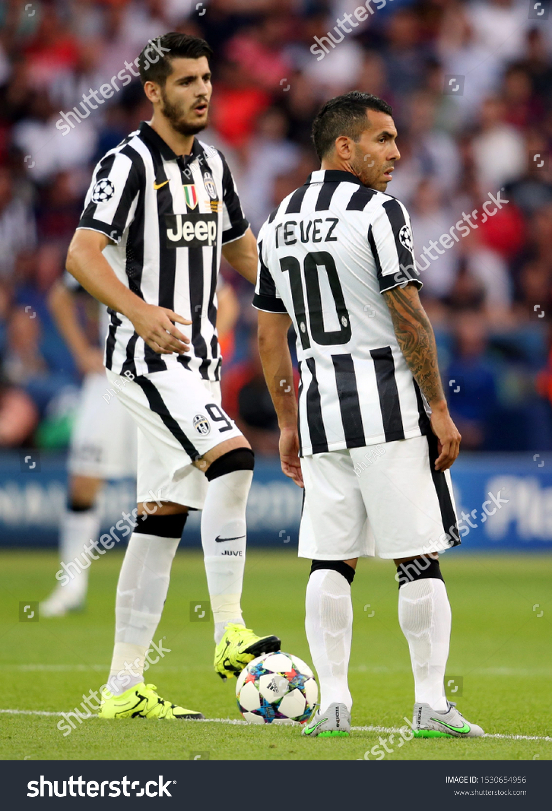 Uefa Champions League Final Juventus Vs Stock Photo Edit Now 1530654956