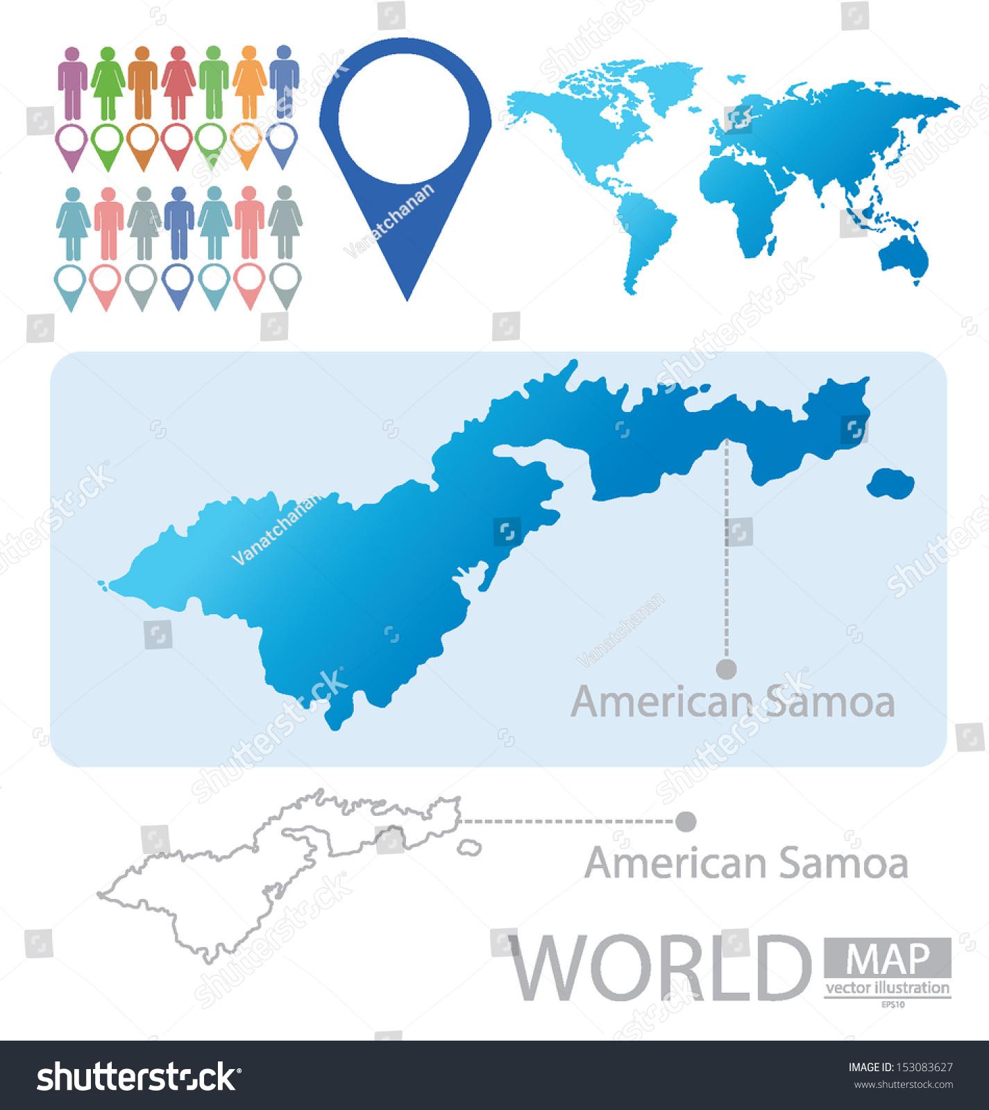 Maps Update 780323 American Samoa in World Map Samoa Map and – Samoa on World Map
