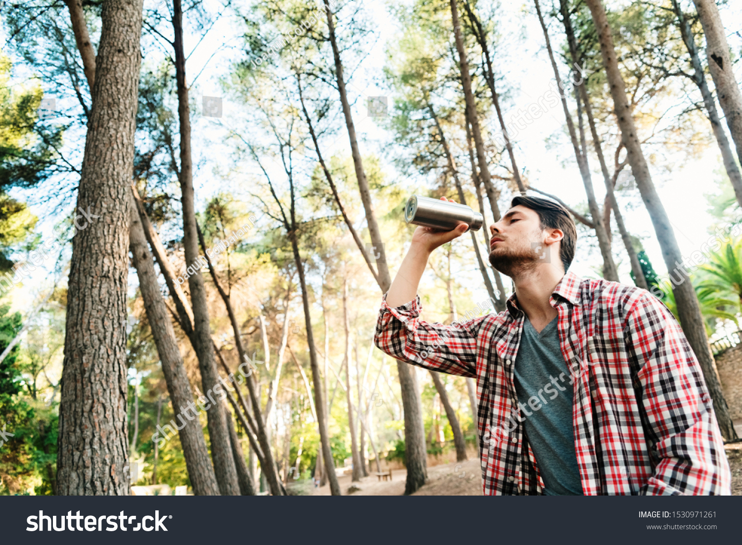 stock pollution image water can