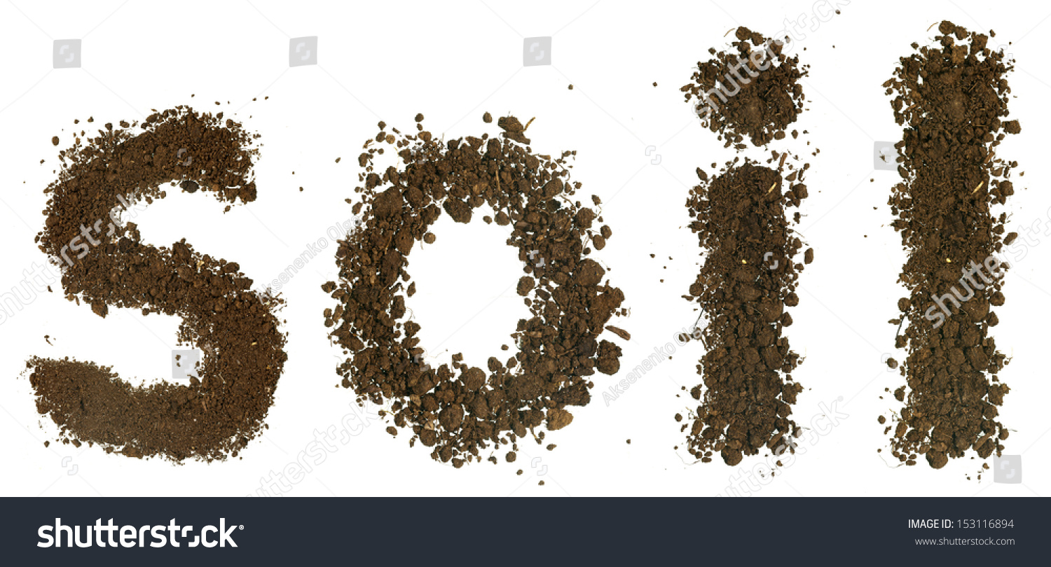 soil word made soil stock photo 153116894 shutterstock ForWords For Soil