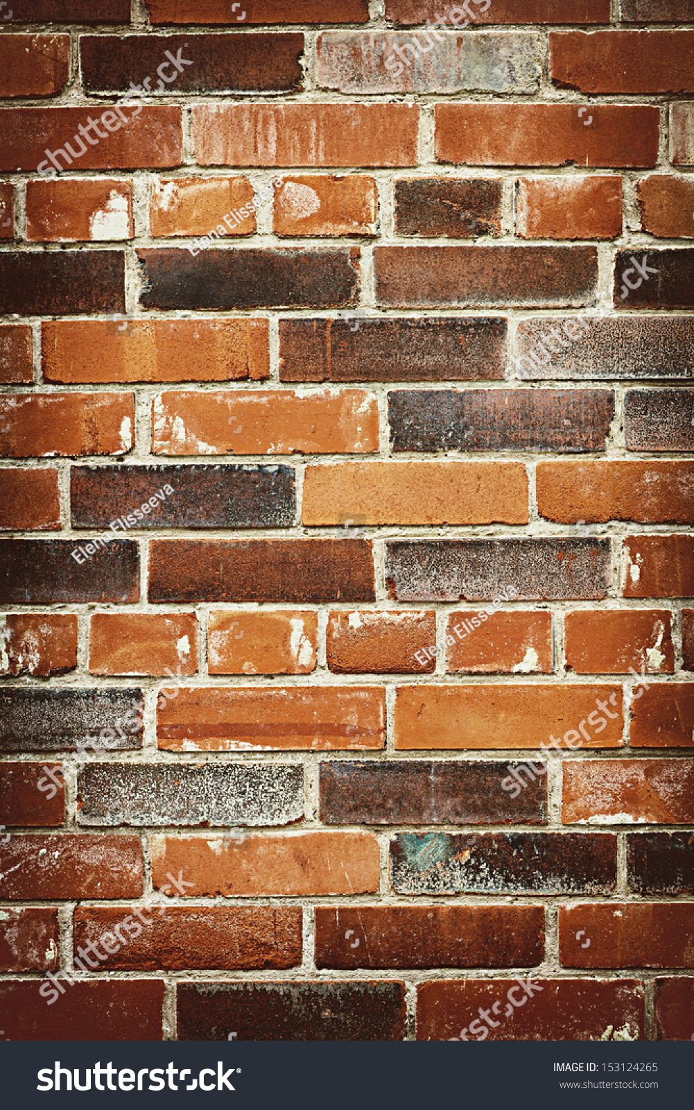 Red and brown brick background of grungy wall stock photo for Red and brown walls