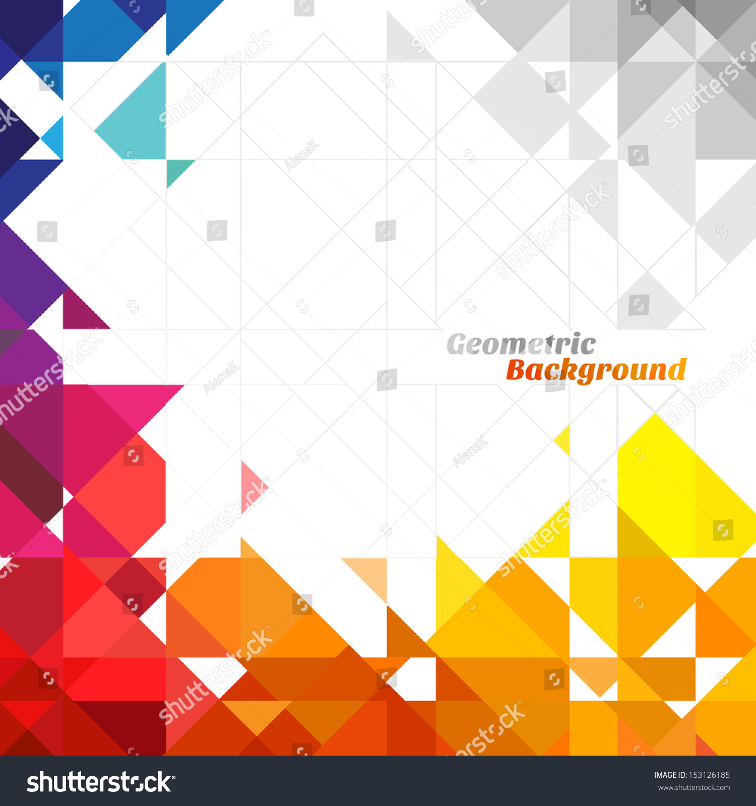 stock vector geometric background - photo #10