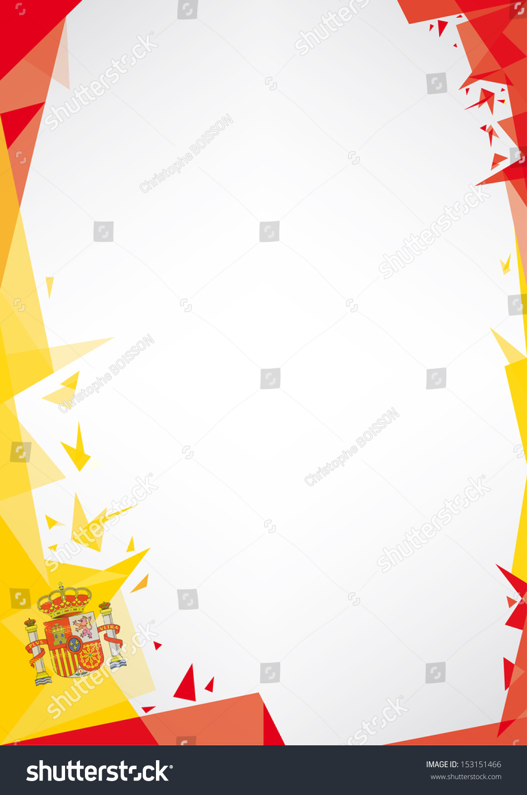 Poster design background - Background Origami Of Spain A Design Background Origami Style For A Very Nice
