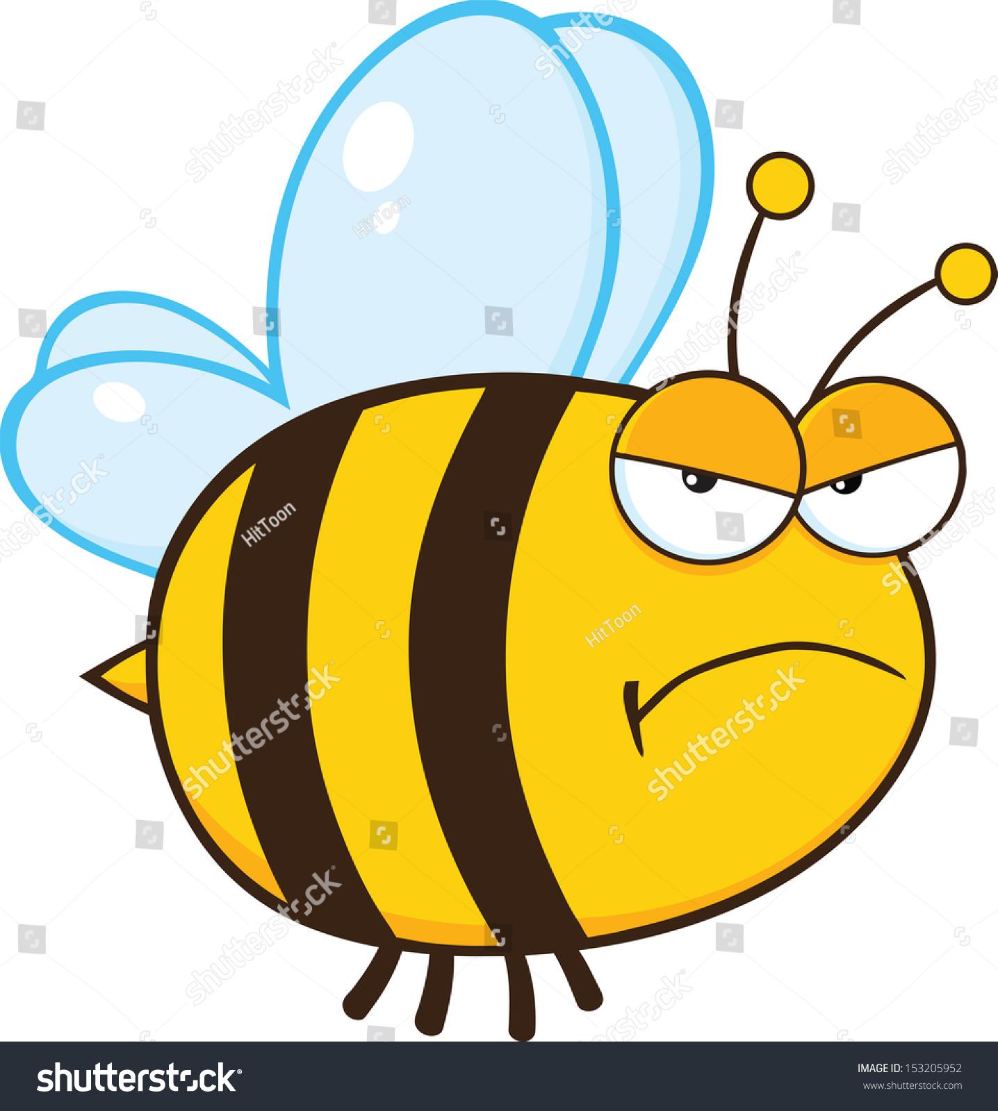 angry bumblebee cartoon - photo #10