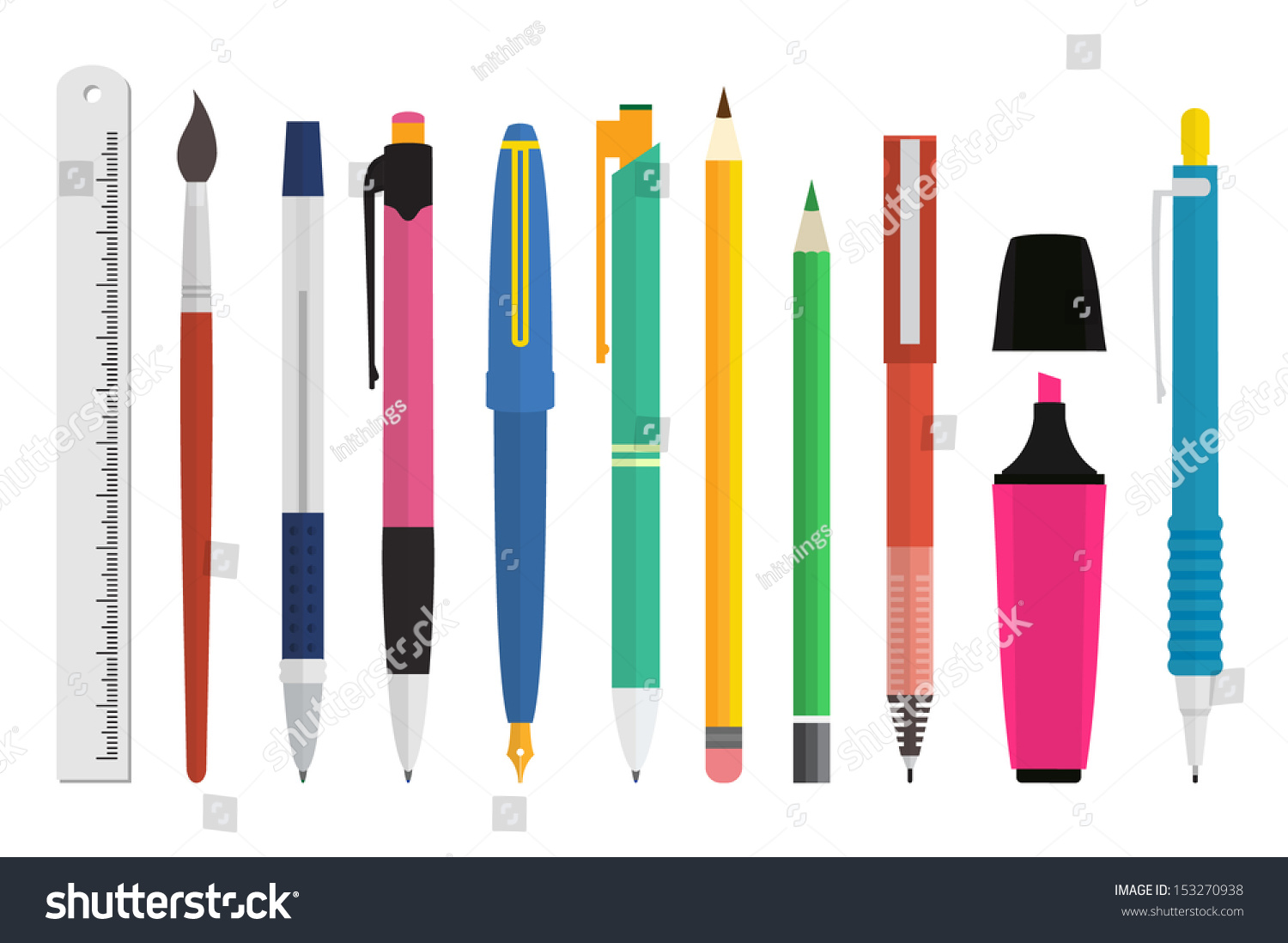 writing utensils Cooking utensils are made out of metal because metal is an excellent heat conductor metal also can withstand a lot higher temperatures then other materials, and doesn't burn.