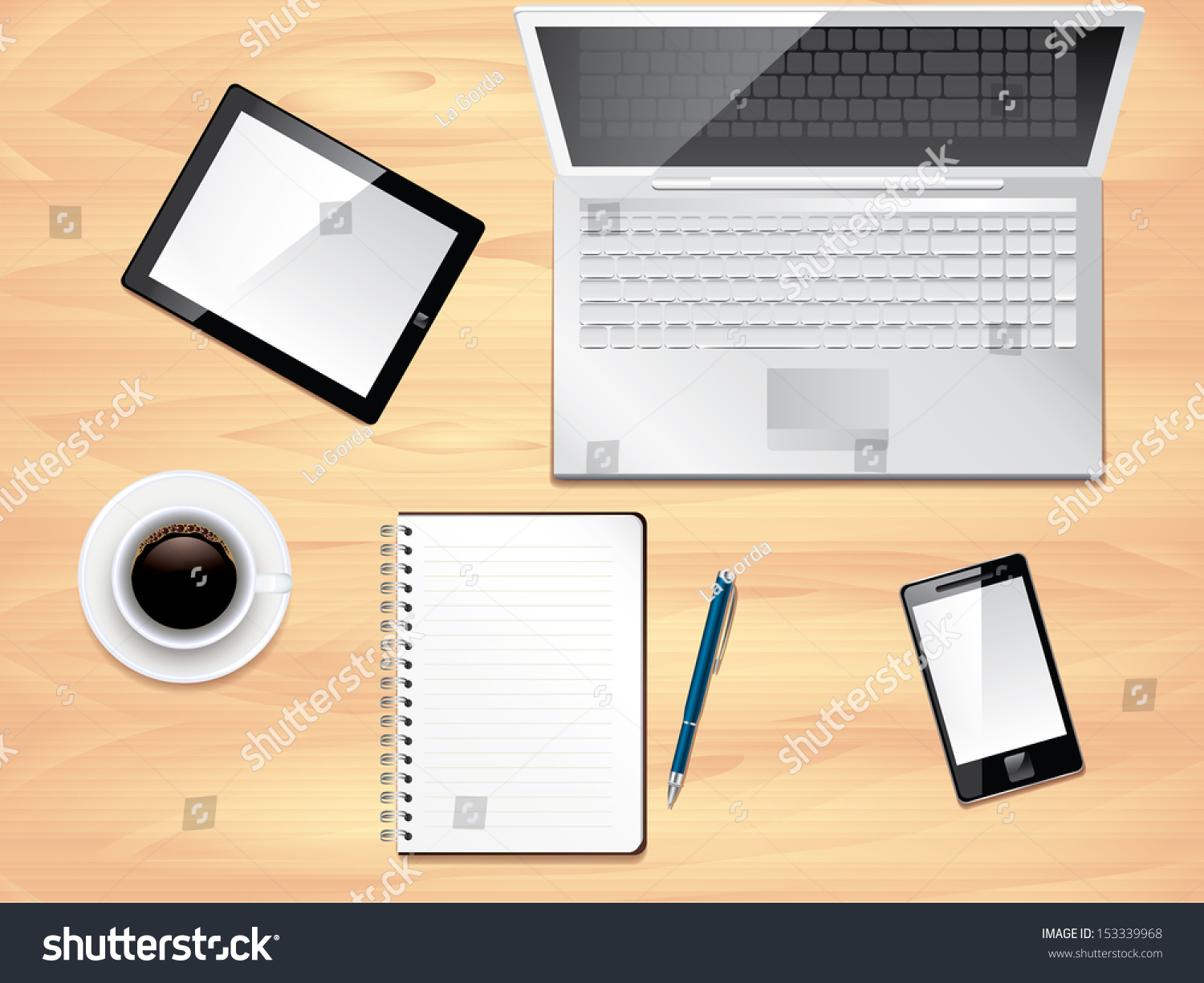 save to a lightbox brilliant office table top stock photos images
