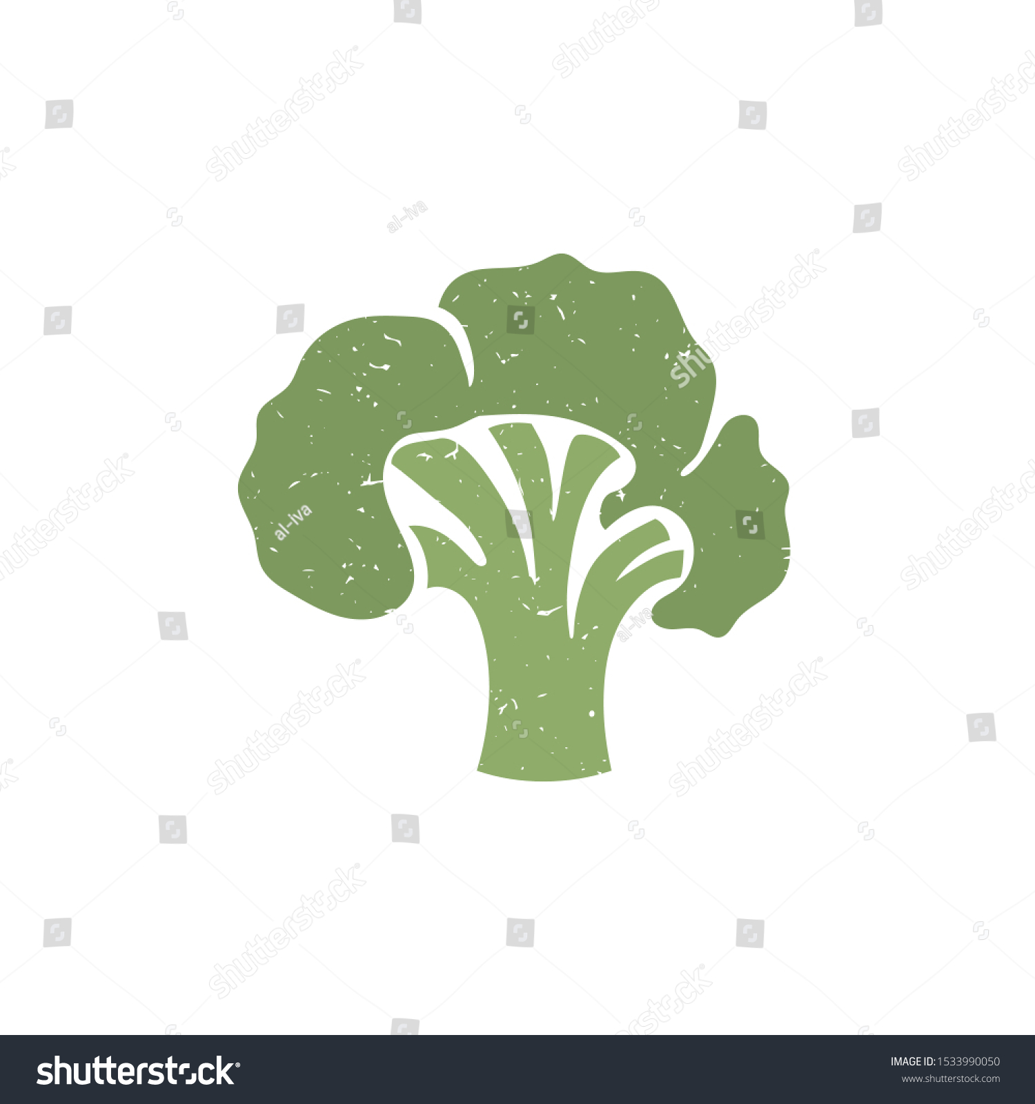 broccoli symbol isolated on transparent background stock vector royalty free 1533990050 shutterstock