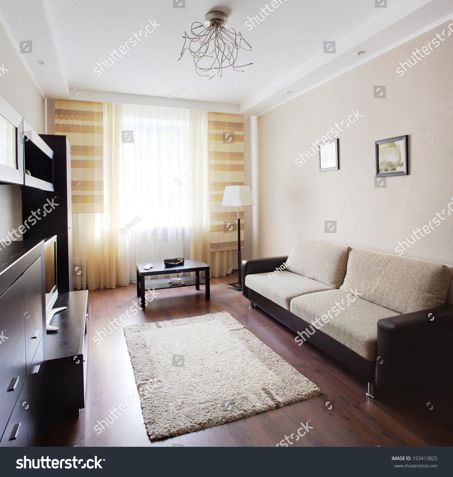 Luxury Very Clean Empty European Room Stock Photo (Royalty Free ...