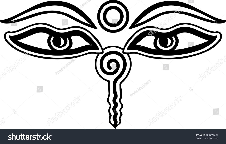 Royalty free buddha eyes symbol wisdom 153601331 stock photo buddha eyes symbol wisdom enlightenment 153601331 biocorpaavc Images