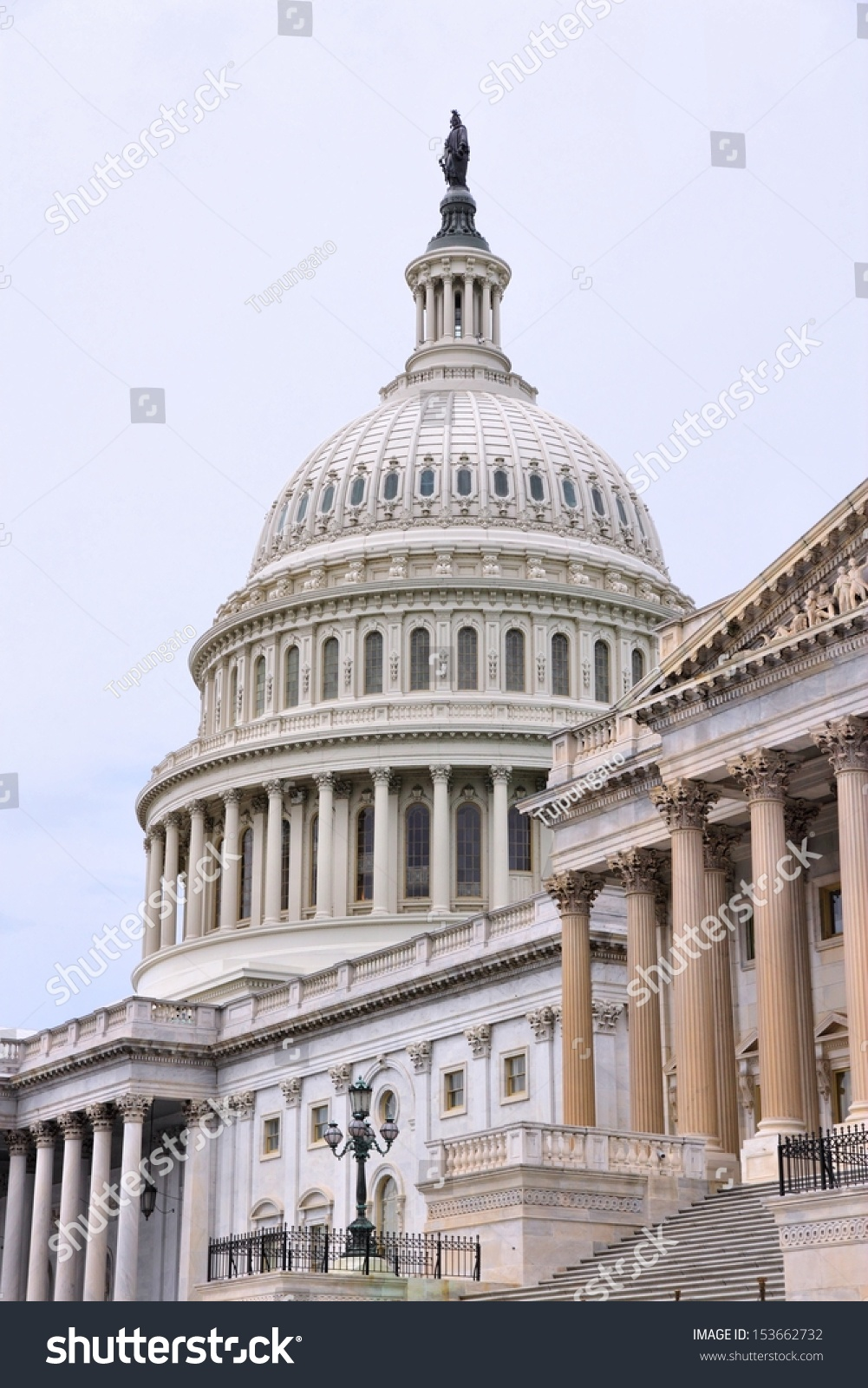 Washington DC Capital City United States Stock Photo (Edit