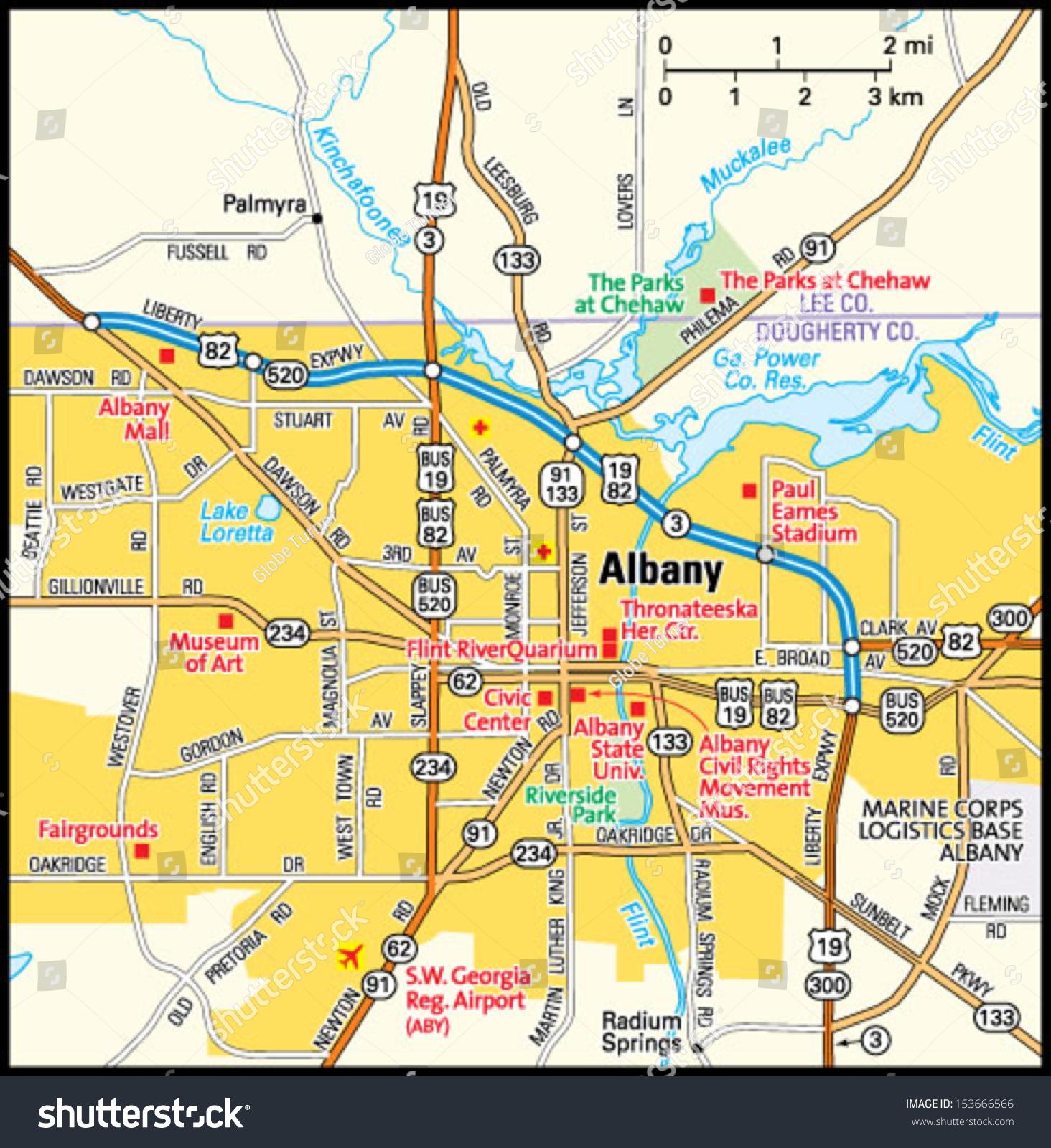 Albany Ga Map 3 20 Hus Noorderpad De