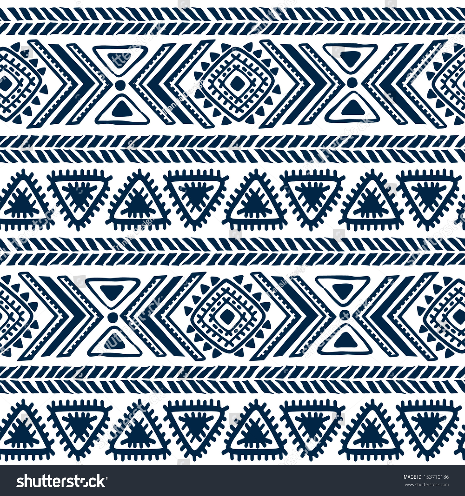 100 Colorful Tribal Vintage Ethnic Seamless Tribal  : stock vector tribal vintage ethnic seamless 153710186 from ubytovani-melnik.com size 1500 x 1600 jpeg 1463kB