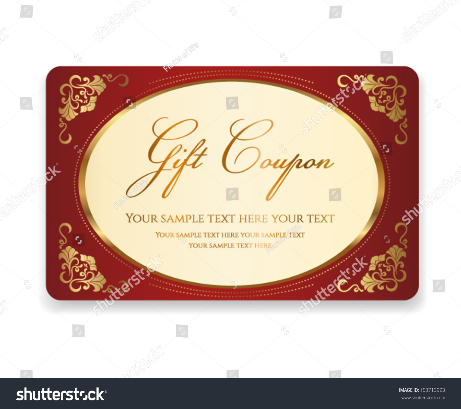 t coupon t card discount card stock vector