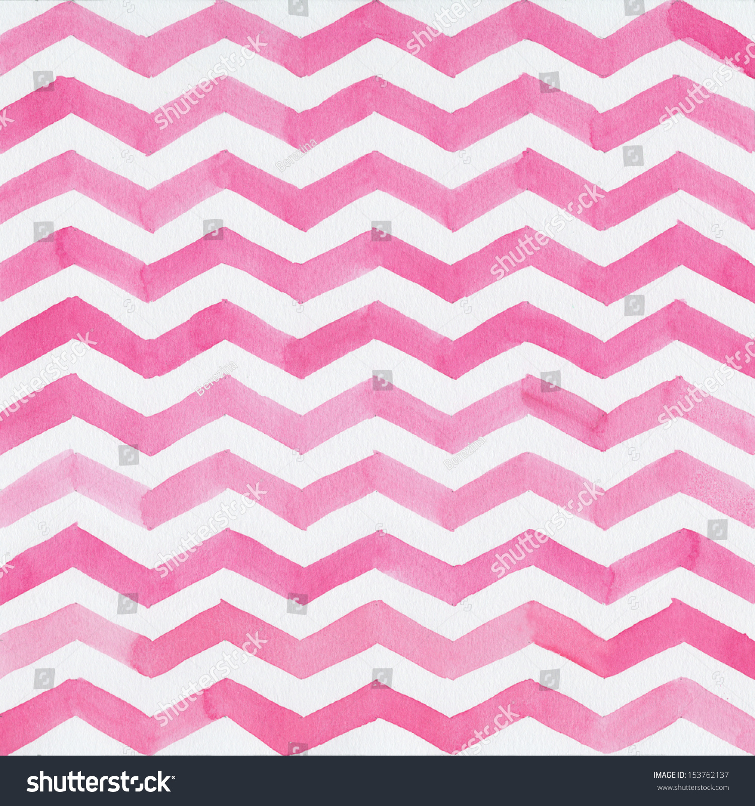 Blue pink and white background design with chevron stripe