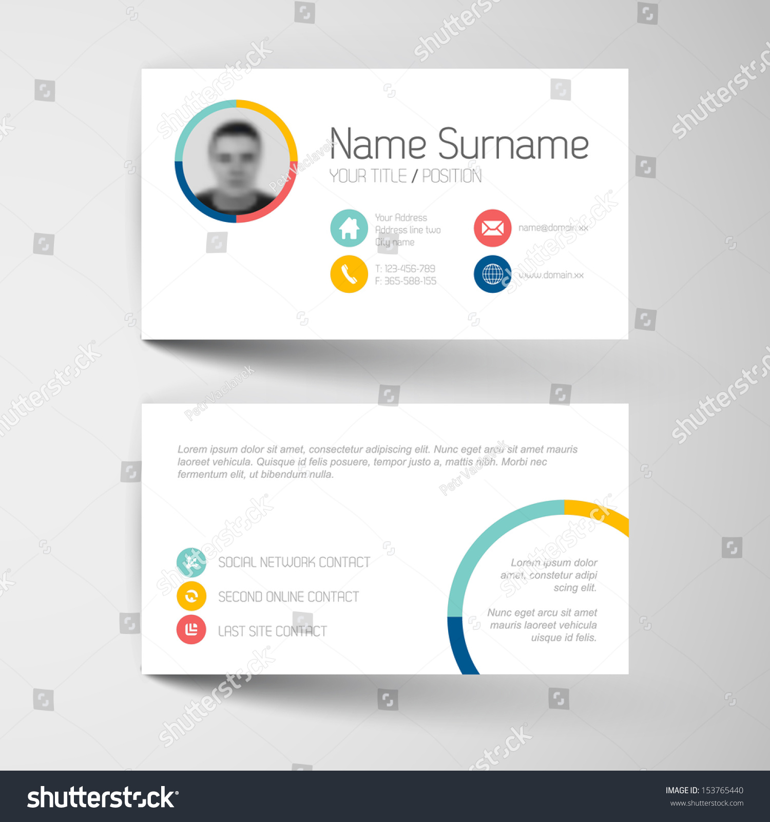 Business Card Online Template