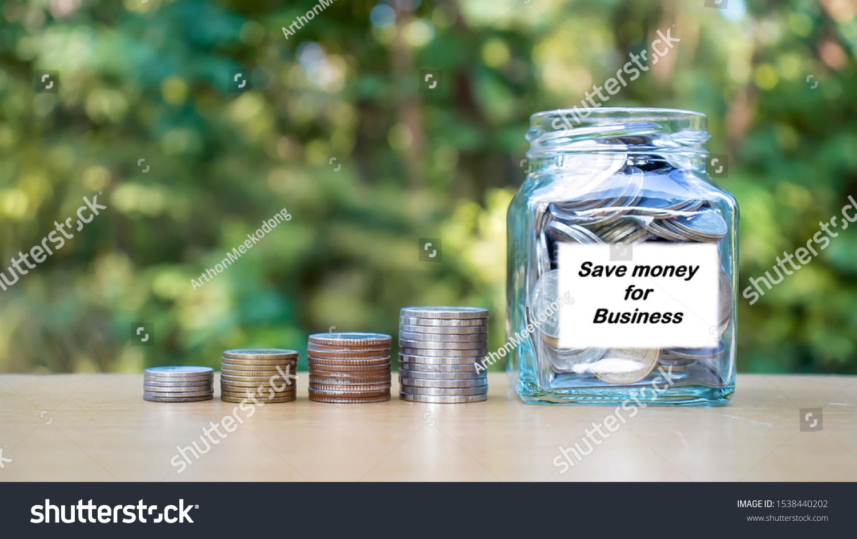 Stack Money Money Jar Money Idea Stock Photo Edit Now 1538440202
